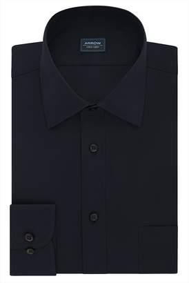 Arrow Big & Tall Solid Textured Dress Shirt