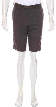 Hermes Flat Front Shorts