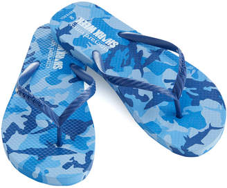 Vineyard Vines Womens Shark Week Printed Flip Flops