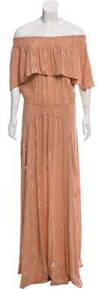 Flynn Skye Off-The-Shoulder Maxi Dress