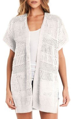 Women's Michael Stars Short Sleeve Open Front Cardigan $148 thestylecure.com