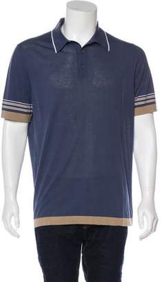 Hermes Striped Polo Shirt