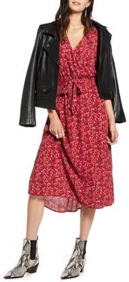 Treasure & Bond Blouson Midi Dress