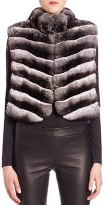 The Fur Salon Chinchilla Fur Vest