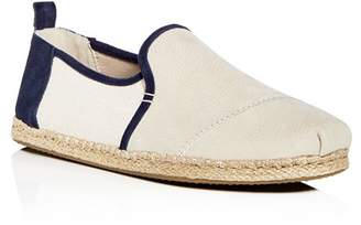 Toms Men's Deconstructed Alaprgata Nubuck Leather Espadrilles