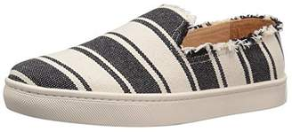 Soludos Women's Striped Slip On Sneaker Flat