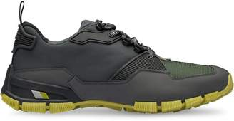Prada Fabric and leather Crossection sneakers