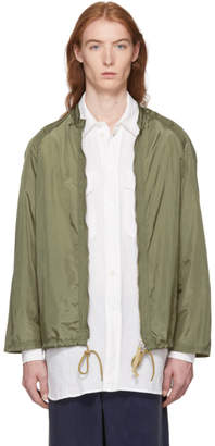 Our Legacy Green Para Sail Jacket