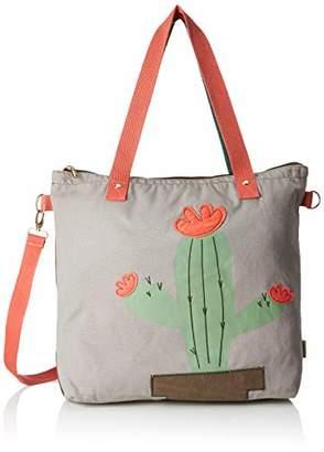 Adelheid Lebenskünstlerin Einkaufstasche, Women's Cross-Body Bag,10x43x43,5 cm (B x H T)