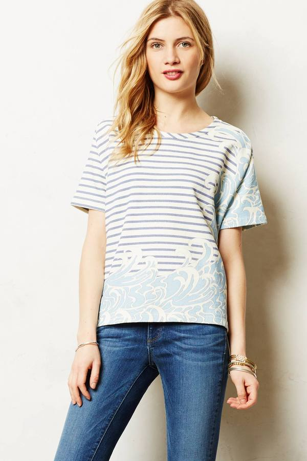 Paul & Joe Sister Swept Stripes Pullover