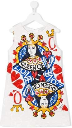 Dolce & Gabbana embroidered shift dress