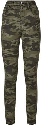 Good American Good Waist Camouflage Jeans