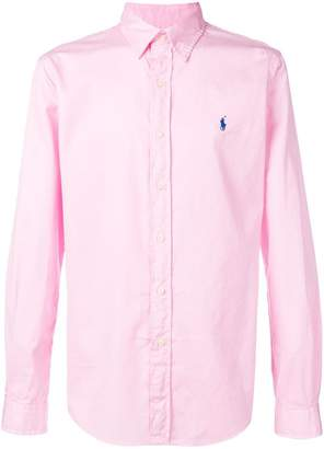 Polo Ralph Lauren embroidered logo slim-fit shirt