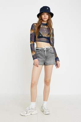 Urban Outfitters Celestial Sheer Mesh Top