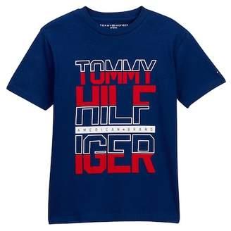 Tommy Hilfiger Yusef Short Sleeve Tee (Big Boys)