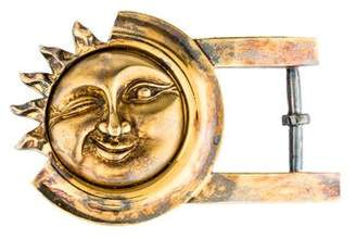 Kieselstein-Cord Sterling Silver Sun Buckle
