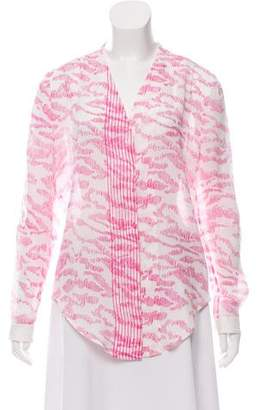 Maiyet Silk Printed Blouse