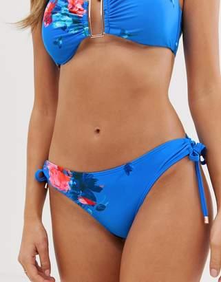 Ted Baker bikini bottoms in raspberry ripple print