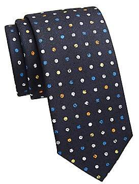 Saks Fifth Avenue Men's COLLECTION Polka Dot Print Tie