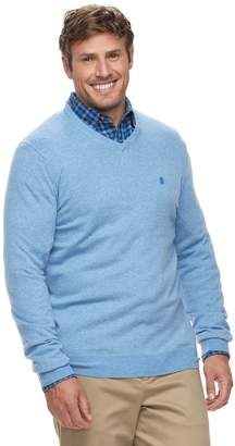 Izod Big & Tall Premium Essentials Classic-Fit V-Neck Sweater