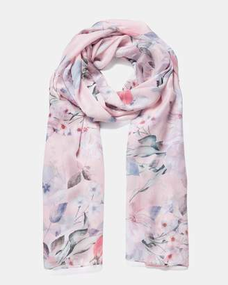Forever New Olivia Floral Print Scarf