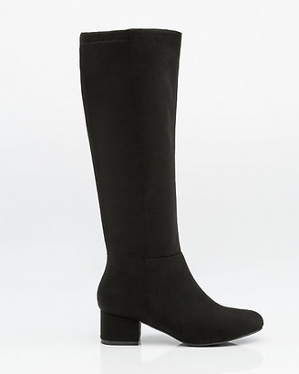 Le Château Stretch Suede-Like Knee-High Boot