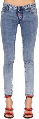 DSQUARED2 Jennifer Washed Cotton Denim Jeans