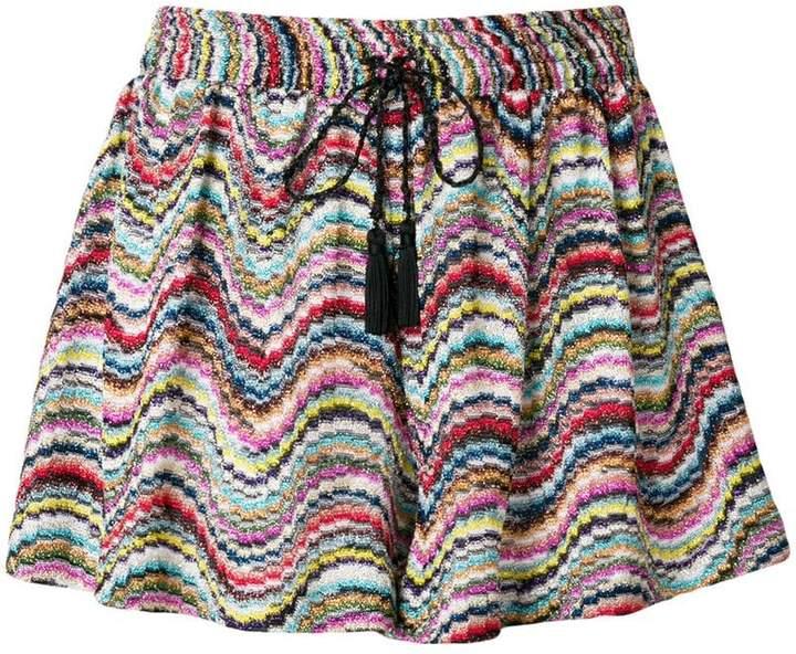Missoni Mare Shorts mit Kordelzug