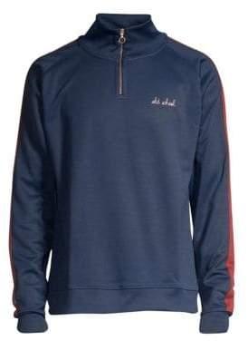 Maison Labiche Paris-Siberie Sporty Cotton Sweatshirt