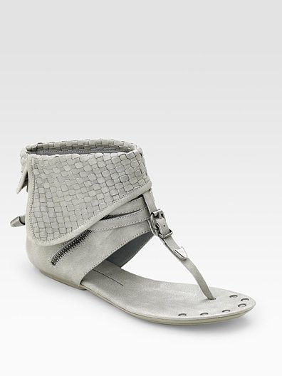 Dolce Vita Tahoe Woven Thong Sandals