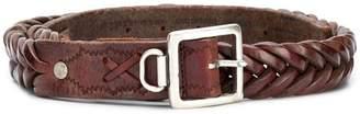 Golden Goose plaited belt