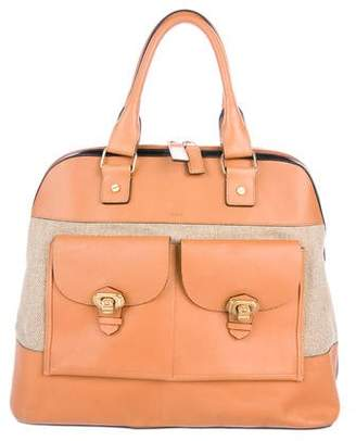 Chloé Bicolor Leather Bag