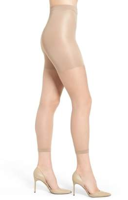 Spanx R) Power Capri Control Top Footless Pantyhose