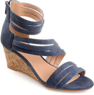 Journee Collection Loki Wedge Sandal - Women's