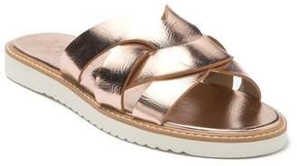 BC Footwear Therapeutic Vegan Slide Sandal