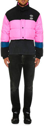 Off-White Off White Men's Quilted Puffer Jacket