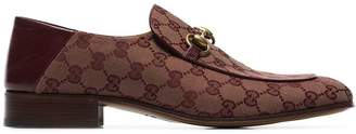 Gucci Mister horse-bit logo loafers