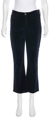 Frame Mid-Rise Velvet Pants