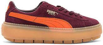 Puma Suede Platform Trace Block Sneaker
