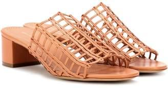 c12449e3939f9 Mansur Gavriel Leather Women's Sandals - ShopStyle
