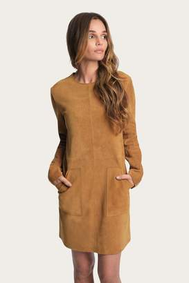 Frye Melissa Suede Pocket Dress