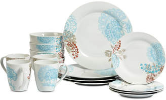 Tabletops Unlimited Emma 16-Pc. Dinnerware Set, Service for 4