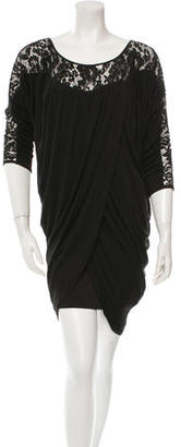 Alice by Temperley Silk Lace-Accented Dress $85 thestylecure.com