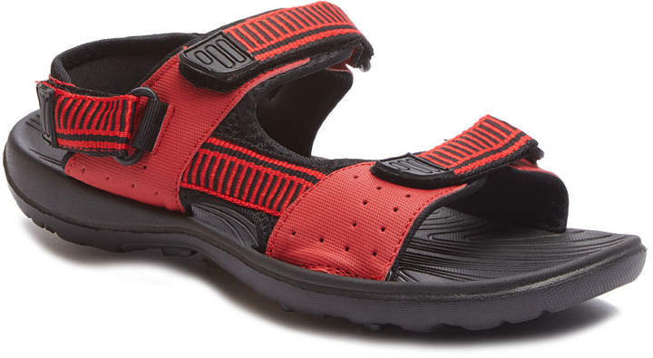 Red & Black Sandal - Adult