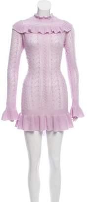 Ulla Johnson Ruffled Sweater Dress