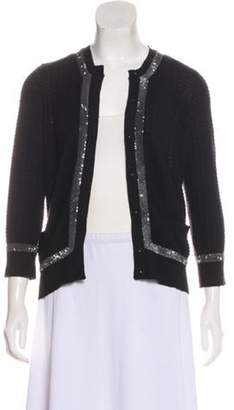 Marc Jacobs Cashmere and Silk-Blend Cardigan Black Cashmere and Silk-Blend Cardigan