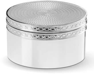 Wedgwood Vera Wang Silver Covered Box