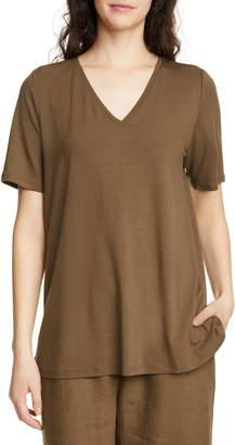 Eileen Fisher Short Sleeve Swing Top