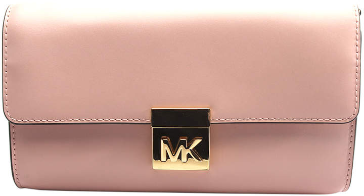 Michael Kors Blossom Mindy Leather Clutch - BLOSSOM - STYLE