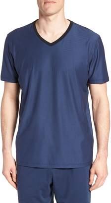 Daniel Buchler Pima Cotton & Modal V-Neck T-Shirt
